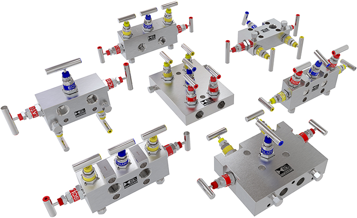 The Stewarts Group range of precision engineered needle valves and manifolds