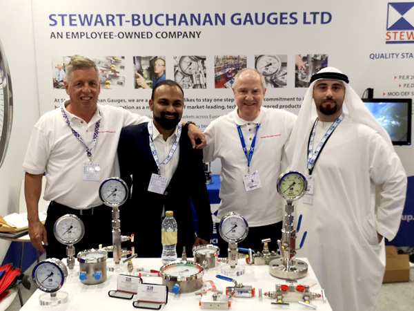 The Stewarts Group stand at ADIPEC 2019