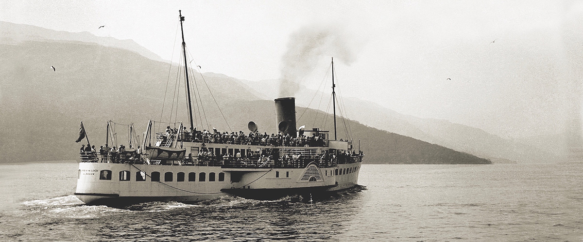Launched in 1953, the Clyde-built the Maid of the Loch was the last paddle steamer to be built in Britain