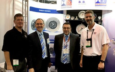 Joining forces with Stewarts-USA at the Offshore Technology Conference, Houston, Texas