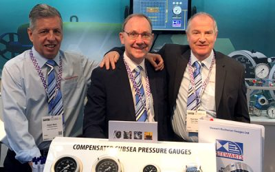 Our Subsea Pressure Gauge range is a hit at Offshore Energy 17