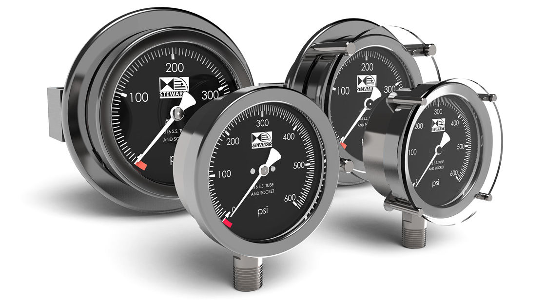 The Stewarts Group - Compensated Subsea Pressure Gauges