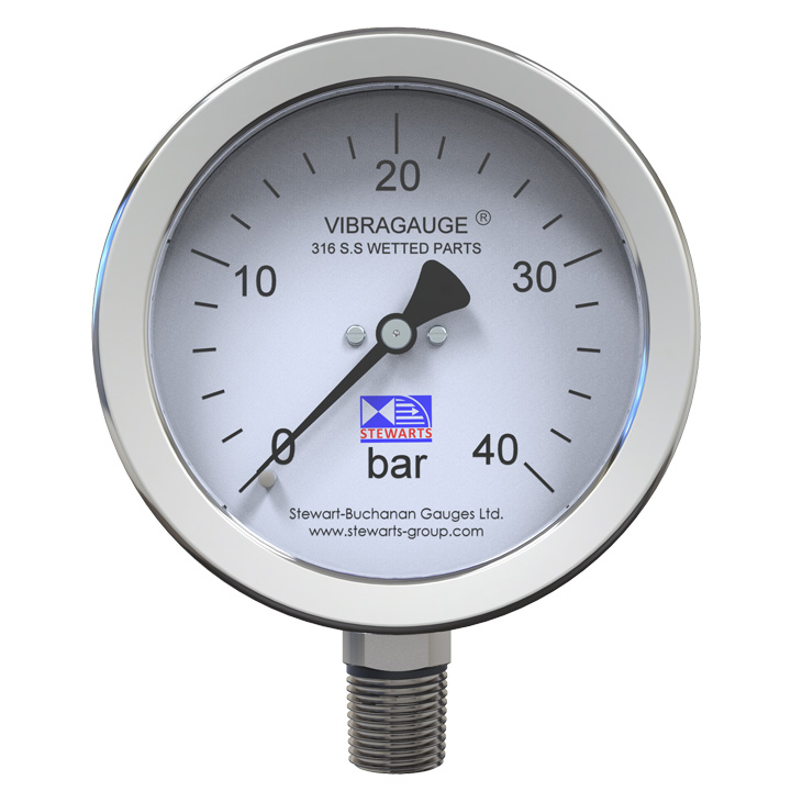 VIBRAGAUGE® - The Pressure Gauge For Vibration Problems