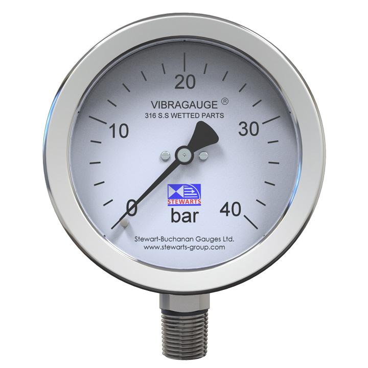 VIBRAGAUGE® - The Pressure Gauge For Vibration Problems